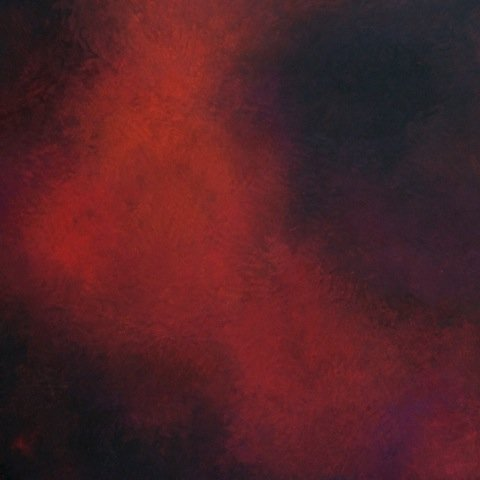 "Janice Mason Steeves ""Silence Red 2 (1246)"""