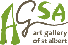 Art Gallery of St Albert logo