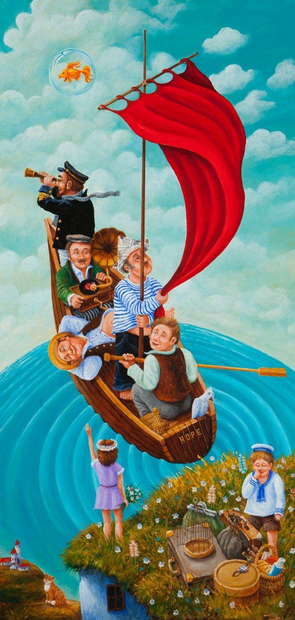"Igor Postash ""Ship of Fools"""