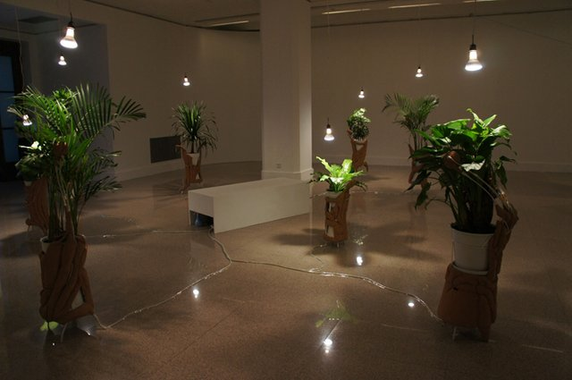 "Jane Tingley, ""Plant (iPod) Installation"" (detail), 2011"