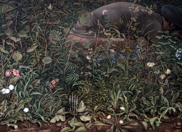 """""""Eunuch Tapestry One"""" (detail)"""