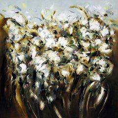 "Carole Arnston ""Scattered White"" 2012"