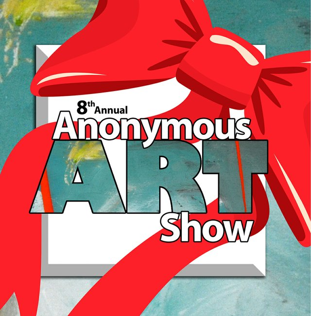 """The 8th Anonymous Art Show at Cityscape Art Space."""