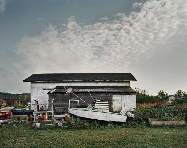 """""""Boat and Shed, Heron Bay, Ontario"""""""