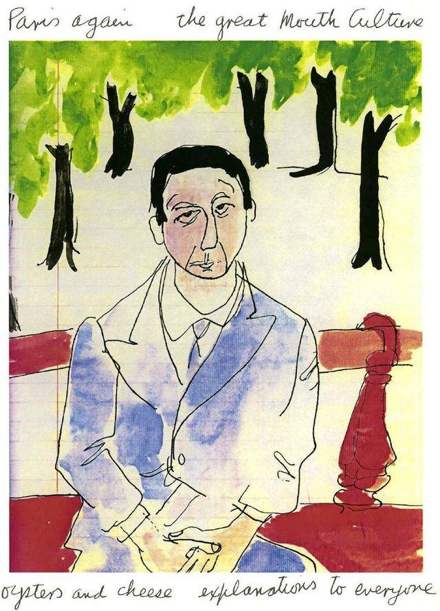 "Leonard Cohen ""Paris Again"""