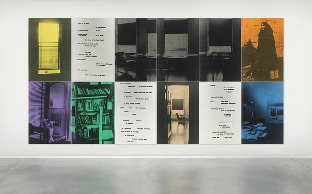 "Ian Wallace, ""Image/Text,"" 1979"