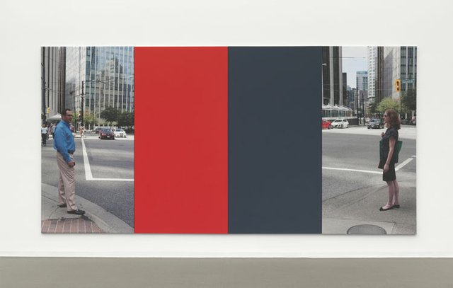 "Ian Wallace, ""At The Crosswalk VIII"", 2011"