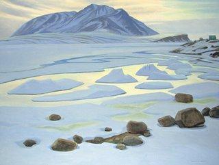"""Ice Floes, Broughton Island"""