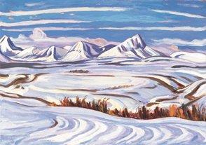 """Early Snow, Alberta"""