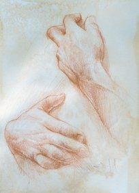 """""""Hands Study"""""""