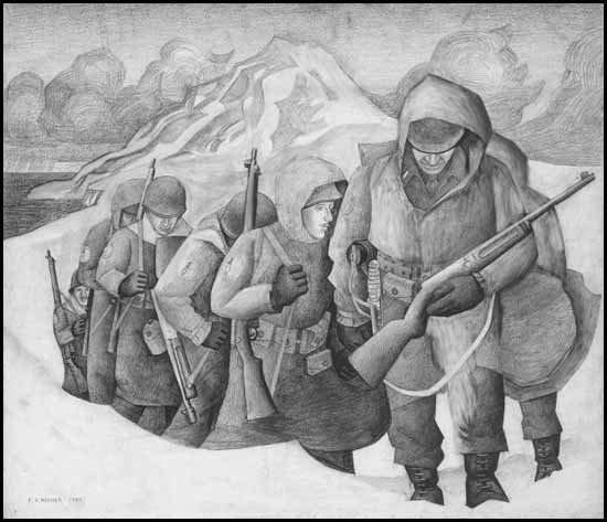 """Patrol on Kiska in 1943"""