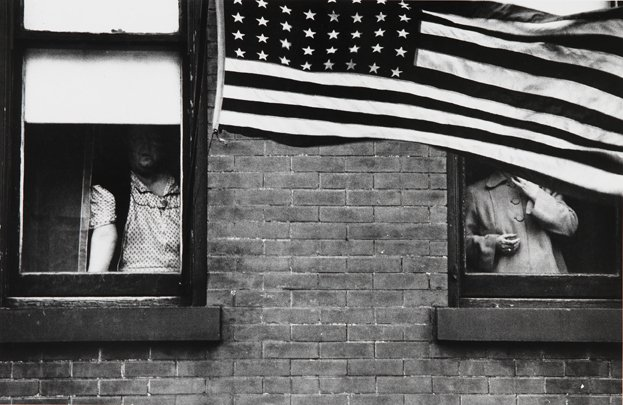 "Robert Frank, ""Parade, Hoboken, NJ"", 1955"