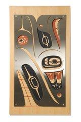 """Merge Wall Panel 1 – Eagle and Whale"""