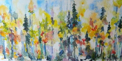 "Karen Bishop ""Imagined Trees"""