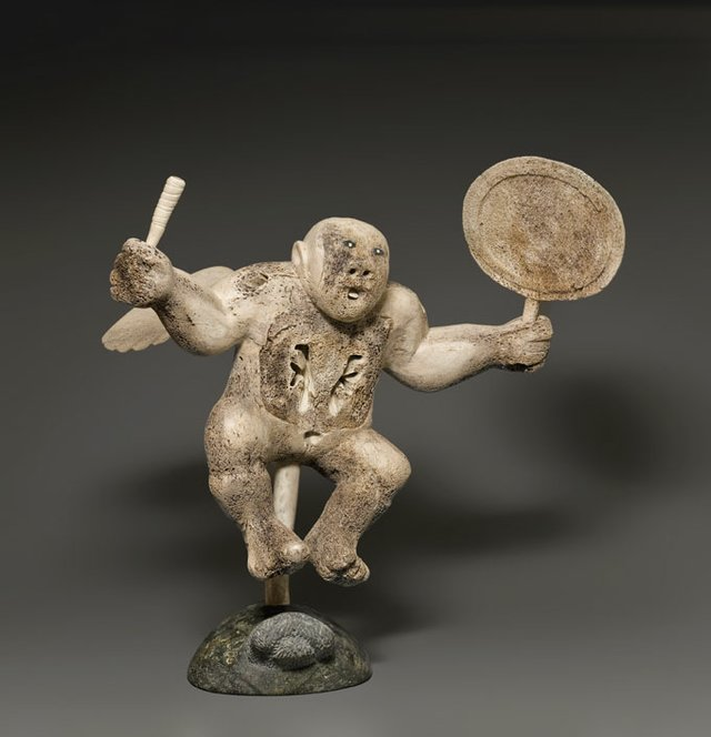 """Winged Shaman Drum Dancer"""