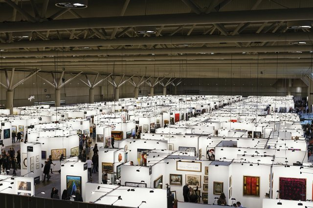 """View of Art Toronto 2012"""