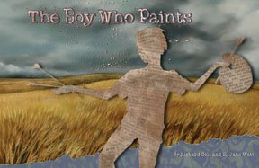 """The Boy Who Paints,"" Book Cover"