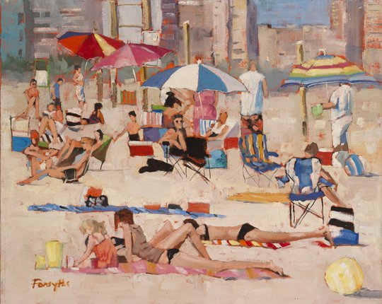"Graham Forsythe ""Beach Sprawl"""