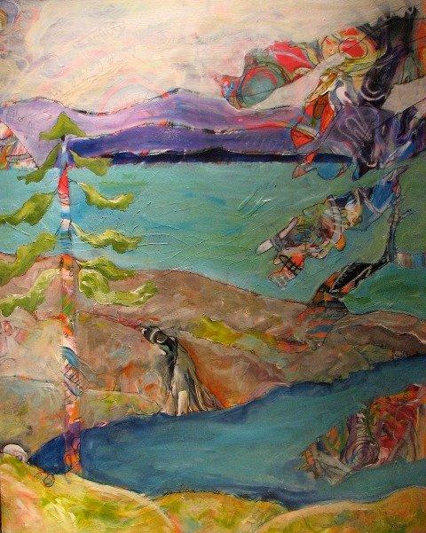 """For the Exhibition: """"Exquisite Landscape"""""""