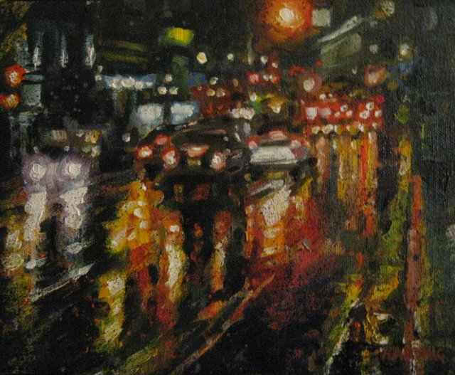 "Stephanie Harding, ""night traffic"""