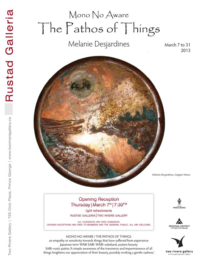 'The Pathos of Things' Poster.