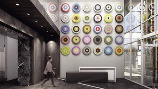 Douglas Coupland, Mark on 10th mural