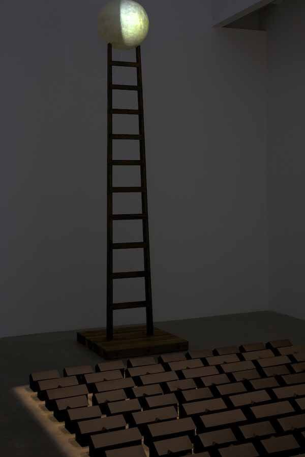 """Ghostown,"" 2011, ""and Ladder to the Moon"""