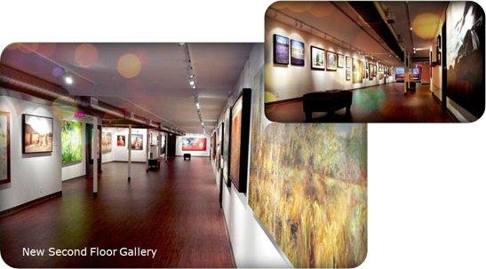 Howe Street Gallery Second Floor