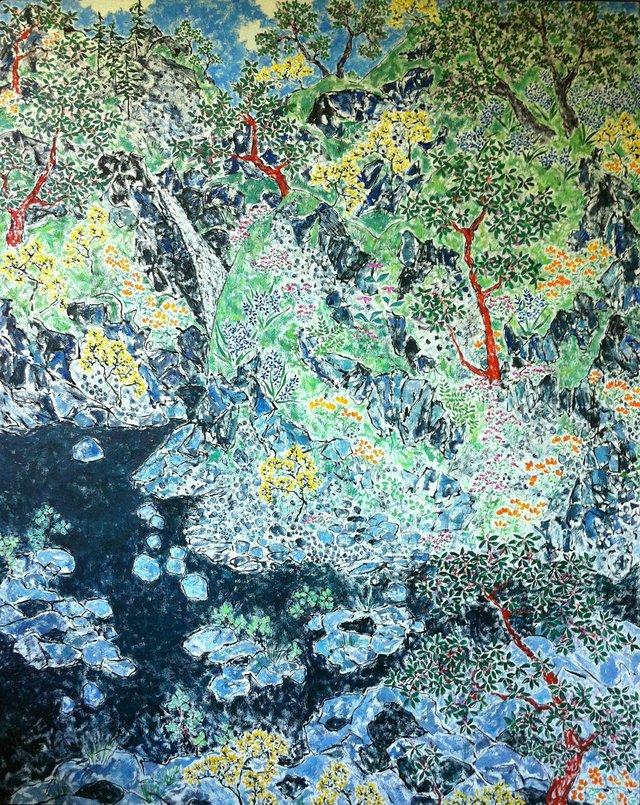 """Ann Nelson, """"Early Spring"""", Sooke (2010)"""