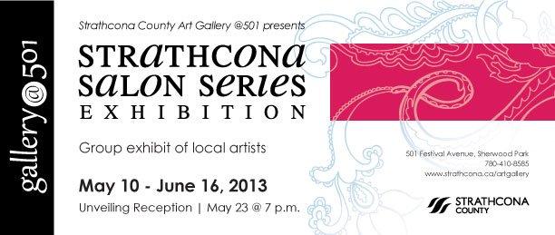 """Strathcona Salon Series poster"""