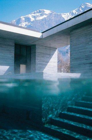 """Therme Vals, Switzerland"""