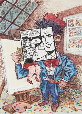 """Comics as a Medium for Self Expression?"""