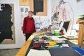 """Bill Rodgers in his Calgary studio"""