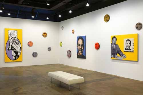 """Candidates and Citizens (installation view)"""