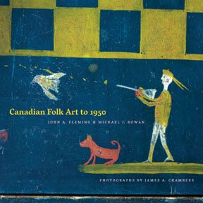 """Folk Art to 1950"" book cover"