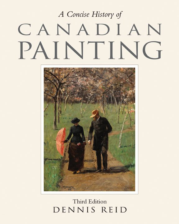 """A Concise History of Canadian Painting"" book cover"