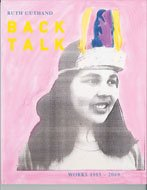 """Back Talk (Works 1983-2009)"" book cover"