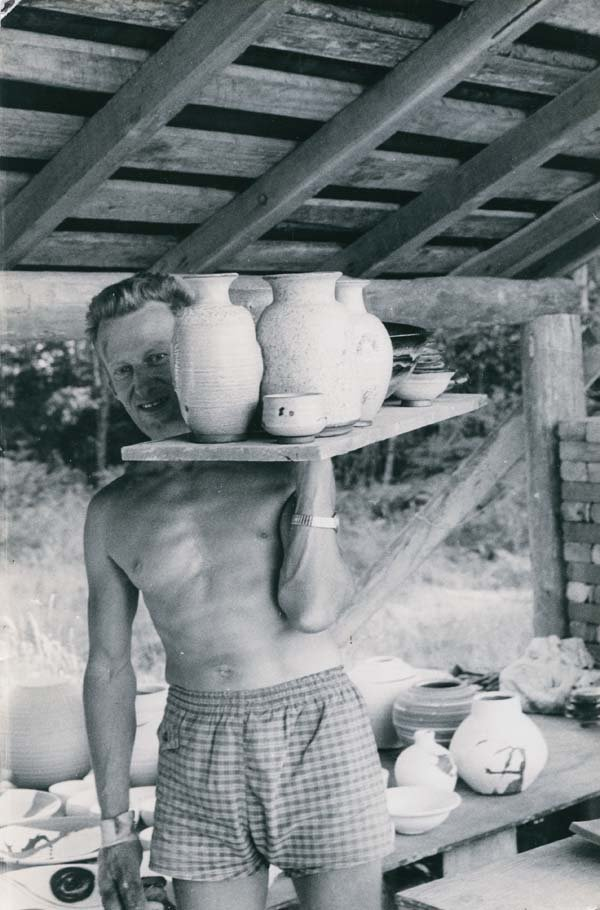 """""""Heinz Laffin on Hornby Island, B.C., circa 1969"""""""