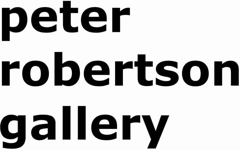 Peter Robertson Gallery logo