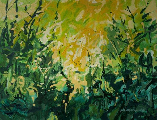 "Gordon Adaskin ""Forest Sunrise"""