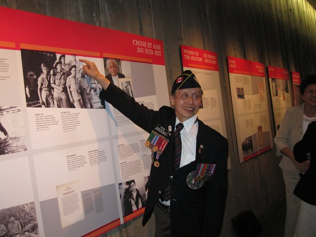"""Chinese Canadian Military Museum Society"""