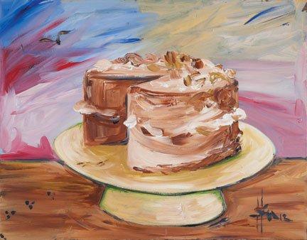 """""""Cake: Self Portrait"""""""