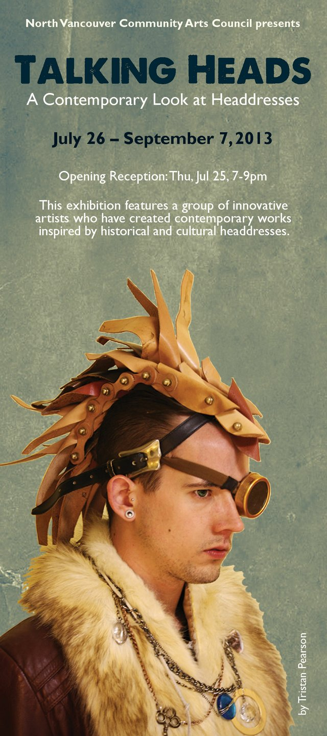 """Talking Heads: A Contemporary Look at Headdresses"" E-Vite"