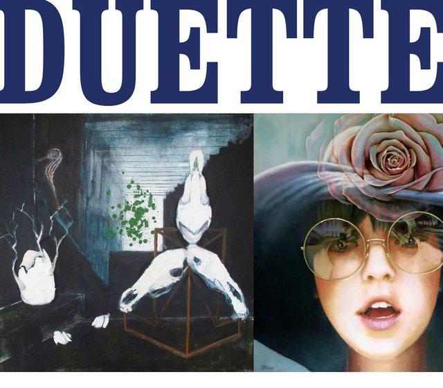 """Duette"" exhibition poster"