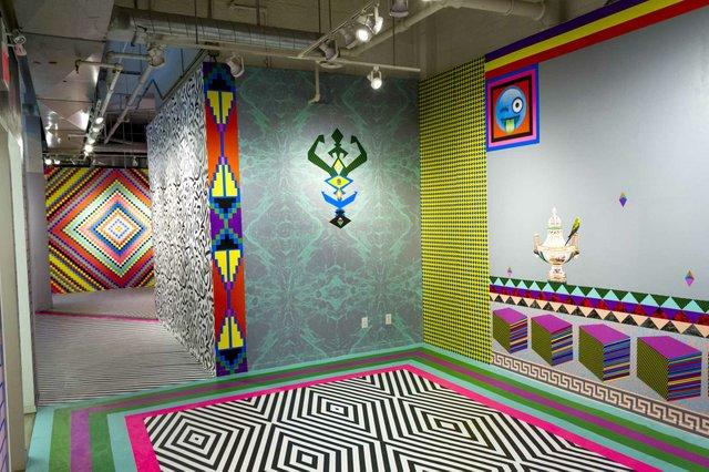 """Exhibition: """"HOTLINE"""" by Dominique Pétrin."""