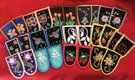 """""""Moccasin tops created by beadworkers from the Cattaraugus Reservation in New York"""""""