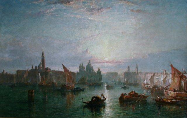"""Towards Evening, Venice"""