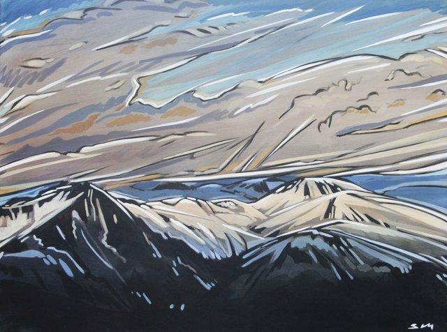"Shannon Craig Morphew ""Mountain Peaks"""