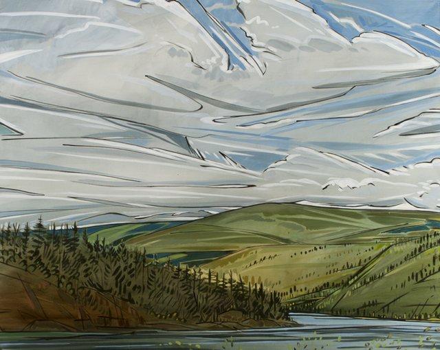 "Shannon Craig Morphew ""Mountain Sky"""