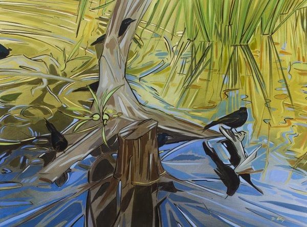 "Shannon Craig Morphew ""Black Bird Pond"""